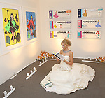 Kristin Simmons Art during The Chashama Gala at 4 Times Square on June 7, 2018 in New York City.