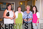 FUN TIME: Enjoying a fun time at the Goblin reunion at the Ballyroe Heights hotel, Tralee on Saturday l-r: Donna Heaslip, Helen Gayson, Paula O'Shea and Patricia Shanahan.