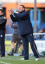 Ali Uzunhasanoglu, Stevenage goalkeeping coach gives encouragement.Rochdale v Stevenage - npower League 1 - Spotland, Rochdale - 14th January, 2012.© Kevin Coleman 2012