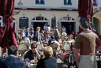 Germany, Baden-Wuerttemberg, Baden-Baden: Cafe Le Bistro at Sophienstrasse | Deutschland, Baden-Wuerttemberg, Baden-Baden: Cafe Le Bistro in der Sophienstrasse