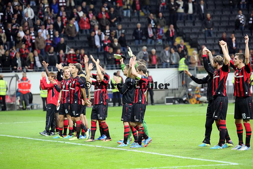 (Eintracht) - 1. Spieltag der UEFA Europa League Eintracht Frankfurt vs. Girondins Bordeaux