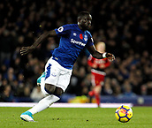 5th November 2017, Goodison Park, Liverpool, England; EPL Premier League Football, Everton versus Watford;  Oumar Niasse of Everton on the ball