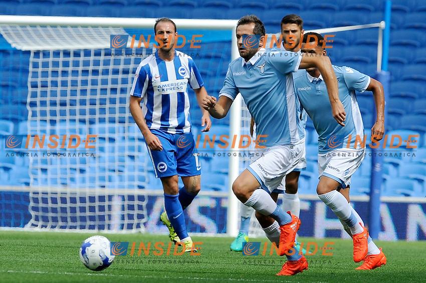 Senad Lulic<br /> 31-07-2016 Brighton, <br /> Amichevole Brighton Vs Lazio<br /> SS Lazio friendly match <br /> @ Marco Rosi / Fotonotizia / Insidefoto
