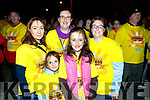 Theresa Lovett, Eve, Lily and Ciara O'Sullivan and Noelle Robb, all from Tralee, pictured at the Darkness Into Light walk, Tralee, on Saturday last.