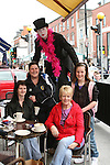 Sharon Barron, Nikitta Fleming, Delores McShane and Tara Fleming with Myles Long at the West Street Wonderland...Photo NEWSFILE/Jenny Matthews.(Photo credit should read Jenny Matthews/NEWSFILE)....This Picture has been sent you under the condtions enclosed by:.Newsfile Ltd..The Studio,.Millmount Abbey,.Drogheda,.Co Meath..Ireland..Tel: +353(0)41-9871240.Fax: +353(0)41-9871260.GSM: +353(0)86-2500958.email: pictures@newsfile.ie.www.newsfile.ie.FTP: 193.120.102.198.