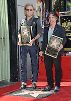 LOS ANGELES, CA. September 2, 2016: Daryl Hall &amp; John Oates at the Hollywood Walk of Fame star ceremony honoring musicians Daryl Hall &amp; John Oates. <br /> Picture: Paul Smith / Featureflash