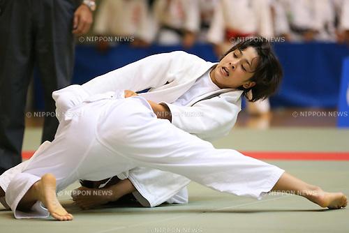Christa Deguchi, <br /> September 7, 2013 - Judo : <br /> All Japan Junior Judo Championships, Women's -57kg class <br /> at Saitama Kenritsu Budokan, Saitama, Japan. <br /> (Photo by Daiju Kitamura/AFLO SPORT)