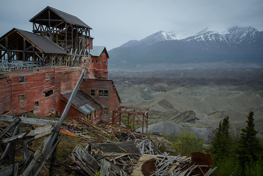 Kennecott Mine, Wrangel-St. Elias National Park, Alaska. Photo by James R. Evans