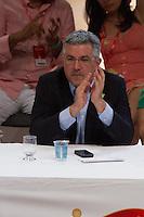SAO PAULO, SP, 15.11.2013 - DÉCIMO TERCEIRO CONGRESSO NACIONAL DO PCDOB - Alexandre Padilha durante o 13º Congresso Nacional do PCdoB - Avançar nas Mudanças, que ocorre no Auditório Elis Regina, região norte de São Paulo. (Foto: Marcelo Brammer / Brazil Photo Press).