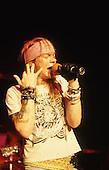 Oct 05, 1987: GUNS N' ROSES - Rock City Nottingham UK