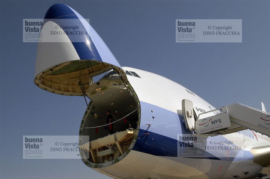 - Boeing 747 cargo aircraft of China Airlines....- aereo cargo Boeing 747 delle China Airlines