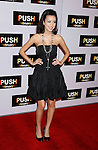 "WESTWOOD, CA. - January 29: Actress Christina Serratos arrives at the Los Angeles Premiere of ""Push"" at the Mann Village Theater on January 29, 2009 in Westwood, California."