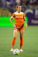 Orlando, FL - Thursday June 23, 2016: Stephanie Ochs during a regular season National Women's Soccer League (NWSL) match between the Orlando Pride and the Houston Dash at Camping World Stadium.