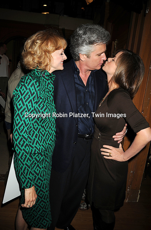 """Jill Larson, Michael E Knight and Bobbie Eakes..at he taping of the 10,000th episode of """"All My Children"""" on October 16, 2008 at their studio. ....Robni Platzer, Twin Images"""