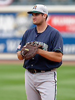 New Orleans Zephyrs Larry Broadway #33 during practice before the Triple-A All-Star Game at Fifth Third Field on July 12, 2006 in Toledo, Ohio.  (Mike Janes/Four Seam Images)