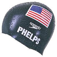 Product packshot of Michael Phelps Speedo Swim Cap