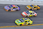 Feb 12, 2009; 2:35:01 PM; Daytona Beach, FL, USA; NASCAR Sprint Cup Series race of the Gatorade Duel at Daytona International Speedway.  Mandatory Credit: (thesportswire.net)