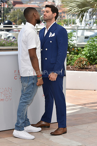 Usher, Edgar Ramirez<br /> Usher Raymond IV, Edgar Ramirez<br /> 'Hands of Stone' photocall during the 69th International Cannes Film Festival, France May 16, 2016.<br /> CAP/PL<br /> &copy;Phil Loftus/Capital Pictures /MediaPunch ***NORTH AND SOUTH AMERICA ONLY***
