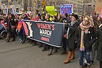 Saturday, January 21, 2017, Women's March On Washington, Toronto