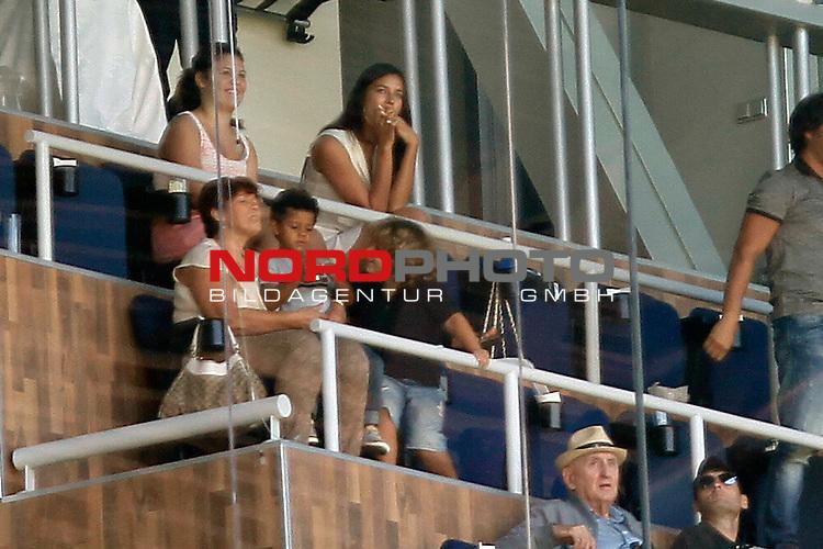 Irina Shayk and Ronaldo's Mother and son during La Liga Match. September 01, 2013. Foto © nph / Caro Marin)