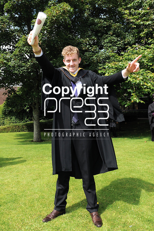 With Compliments,  26/8/2015  Attending the University of Limerick Conferrings was Calvin Noonan, Dromtarriff, Co.Cork who was conferred with a Bachelor of Engineering in Aeronautical Engineering.<br /> Pic: Gareth Williams / Press 22