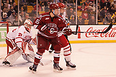 Ryan Donato (Harvard - 16) - The Harvard University Crimson defeated the Boston University Terriers 6-3 (EN) to win the 2017 Beanpot on Monday, February 13, 2017, at TD Garden in Boston, Massachusetts.
