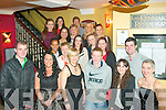 CELEBRATING: Students from Killarney community college who completed a course in Office Administration, celebrated with a meal in Lord Kenmare's restaurant, Killarney, Friday night last.