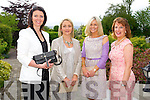 Denise Burke, Lisa Geaney, Susan Walsh and Cathy O'Connor at the Big Bus BBQ in aid of Keerry Cancer Support Group in the Pavillon Ballygary House Hotel on Sunday