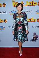 "05 August  2017 - Los Angeles, California - Isabela Moner.  World premiere of ""Nut Job 2: Nutty by Nature""  held at Regal Cinema at L.A. Live in Los Angeles. Photo Credit: Birdie Thompson/AdMedia"