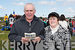 Bill and Mary Keogh, Tournafulla enjoying the Kingdom County Fair on Sunday.