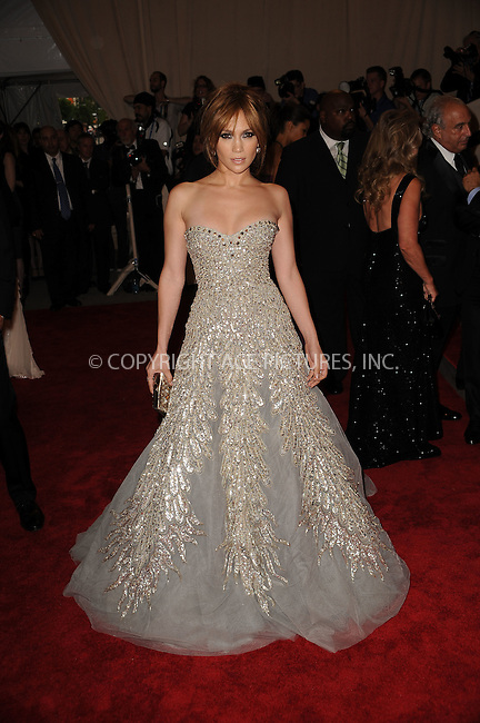 WWW.ACEPIXS.COM . . . . . ....May 3 2010, New York City....Jennifer Lopez arriving at the Costume Institute Gala Benefit to celebrate the opening of the 'American Woman: Fashioning a National Identity' exhibition at The Metropolitan Museum of Art on May 3, 2010 in New York City.....Please byline: KRISTIN CALLAHAN - ACEPIXS.COM.. . . . . . ..Ace Pictures, Inc:  ..(212) 243-8787 or (646) 679 0430..e-mail: picturedesk@acepixs.com..web: http://www.acepixs.com