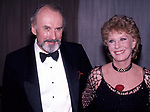 Richard Kiley and Gwen Verdon attend The 41st Annual Tony Awards at the Mark Hellinger Theatre on June 7, 1987 in New York City.