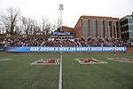SALEM, VA - DECEMBER 3:The crowd during theDivision III Men's Soccer Championship held at Kerr Stadium on December 3, 2016 in Salem, Virginia. Tufts defeated Calvin 1-0 for the national title. (Photo by Kelsey Grant/NCAA Photos)