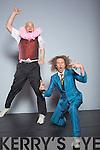 Fanzini brothers Guido and Ronaldo who  performed in the Circus festival in Siamsa on Saturday.