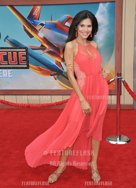Joyce Giraud at the world premiere of Disney's &quot;Planes: Fire &amp; Rescue&quot; at the El Capitan Theatre, Hollywood.<br /> July 15, 2014  Los Angeles, CA<br /> Picture: Paul Smith / Featureflash