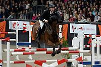 ZUIDBROEK - Paardensport, ICCH Zuidbroek, springen internationaal Grote Prijs , 05-01-2019, Hylke de jong et Innebel van t Welthof