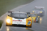 The #54 Pontiac Doran of Forest Barber, Terry Borcheller and Ralf Kelleners races through the rain at the 6 Heueres du Circuit Mont-Tremblant in Mont-Tremblant, Qubec, Canada, on Saturday, May 21, 2005. (Photo by Brian Cleary/www.bcpix.com)