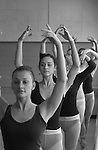 ".""A Day in the Life of BYU""..9/22/04..Dance 490R- Students  on the Theatre Ballet Team have a light workout the day after thier World of Dance Performance. ..For additional questions or for individual identifications, contact Shani Robison at 422-4748 or shani_robison@byu.edu..Photo by Jaren Wilkey/BYU..Copyright BYU PHOTO 2004.photo@byu.edu  801-422-7322.0409-40 Theatre Ballet Class.."