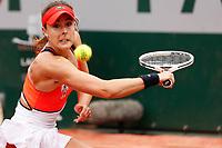 Alize Cornet (FRA)<br /> Tennis Roland Garros 2017 <br /> Foto Antoine Couvercelle / Panoramic / Insidefoto <br /> ITALY ONLY