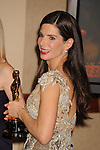 "HOLLYWOOD, CA. - March 07: Actress Sandra Bullock, winner Best Actress award for ""The Blind Side"" poses in the press room at the 82nd Annual Academy Awards held at the Kodak Theatre on March 7, 2010 in Hollywood, California."