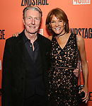 "Byron Jennings and Carolyn McCormick  attends the Second Stage Production of ""Days Of Rage"" at Tony Kiser Theater on October 30, 2018 in New York City."