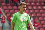 12.05.2018, OPEL Arena, Mainz, GER, 1.FBL, 1. FSV Mainz 05 vs SV Werder Bremen<br /> <br /> im Bild<br /> Niklas Moisander (Werder Bremen #18) bricht Aufw&auml;rmen ab, <br /> <br /> Foto &copy; nordphoto / Ewert