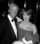 Peter Fonda and Jane Fonda attend the Film Society of Lincoln Center Gala Tribute to Jane Fonda at Avery Fisher Hall on May 7, 2001 in New York City.