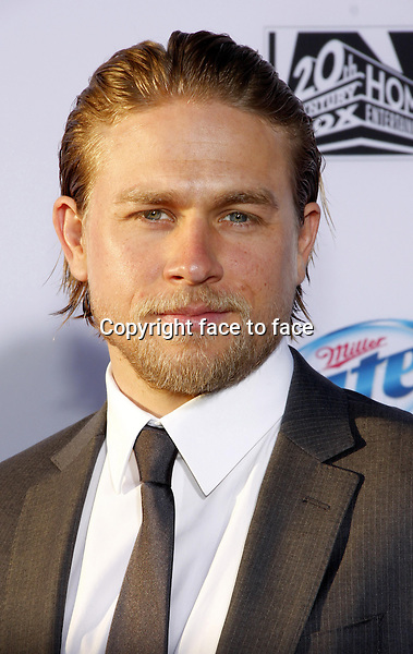 """Charlie Hunnam at the FX's Season 6 Premiere Screening of """"Sons Of Anarchy"""" held at the Dolby Theatre in Hollywood on September 7, 2013 in Los Angeles, California. Credit: PopularImages/face to face"""