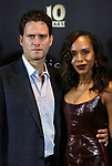 Steven Pasquale and Kerry Washington attends the Broadway Loyalty Program Audience Rewards celebrating their 10th Anniversary  on September 24, 2018 at Sony Hall in New York City.