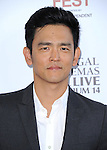 John Cho attends The LOS ANGELES FILM FESTIVAL Opening Night Gala: SNOWPIERCER held at Regal Cinemas  in Los Angeles, California on June 11,2014                                                                               © 2014 Hollywood Press Agency