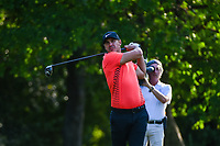 Brooks Koepka (USA) watches his tee shot on 12 during round 2 of the Fort Worth Invitational, The Colonial, at Fort Worth, Texas, USA. 5/25/2018.<br /> Picture: Golffile | Ken Murray<br /> <br /> All photo usage must carry mandatory copyright credit (&copy; Golffile | Ken Murray)