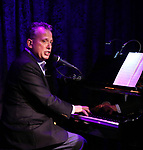Billy Stritch performing onstage at Birdland Theater during the Media Open House Cocktail Party at the Birdland Theater on September 20, 2018 in New York City.
