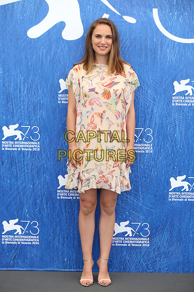 VENICE, ITALY - SEPTEMBER 08: Natalie Portman attends a photocall for 'Planetarium' during the 73rd Venice Film Festival at Palazzo del Casino on September 8, 2016 in Venice, Italy.<br /> CAP/GOL<br /> &copy;GOL/Capital Pictures
