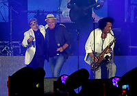 Nino D'Angelo festeggia i suoi 60 anni con un concerto nello stadio San Paolo di Napoli<br /> con James Senese e Enzo Gragnianiello